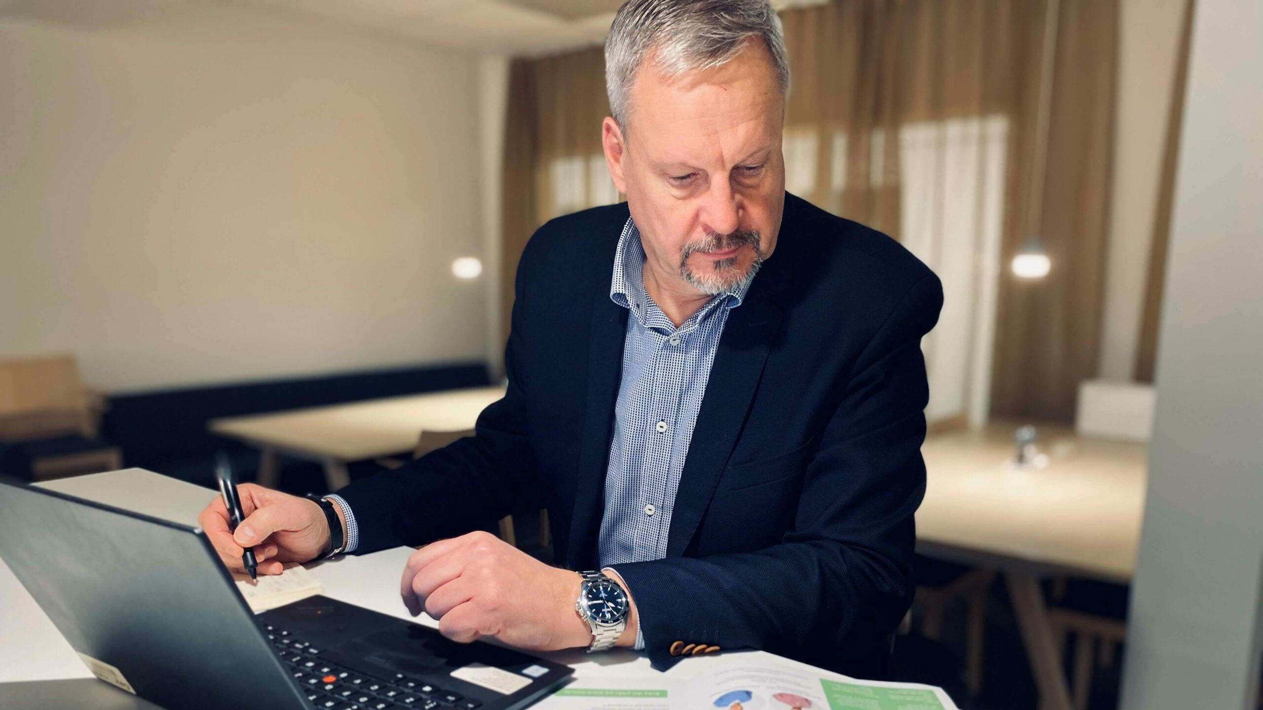 Hans Heldring Chef produktutveckling INSU